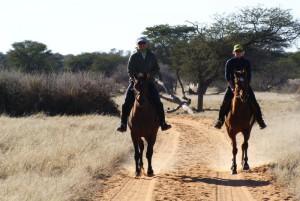 Konno przez Namibię